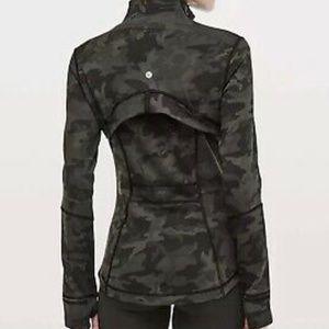 LULULEMON Define CAMO Jacket-  Size 4